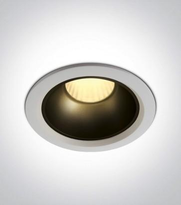 Faretto LED da Incasso recesso Bianco - 20W - Bianco Caldo 3000K - Personalizzabile