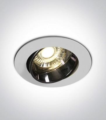 Faretto LED da Incasso recesso Orientabile - Bianco - 10W - Bianco Caldo 3000K