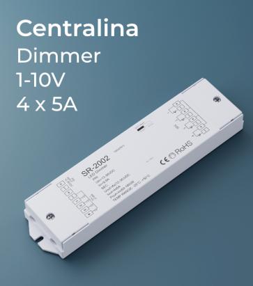 Centralina Ricevente 4 Canali x 5A - 0/1-10V