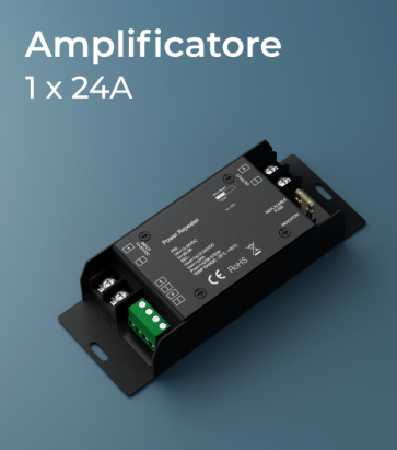 Amplificatore PWM 1Ch. x 24A  - Strisce LED