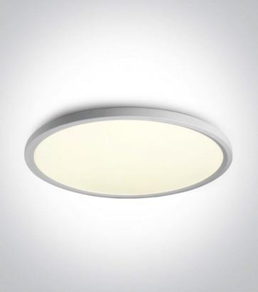 Plafoniera LED Tonda - Colore Bianco - 60W - Bianco Naturale