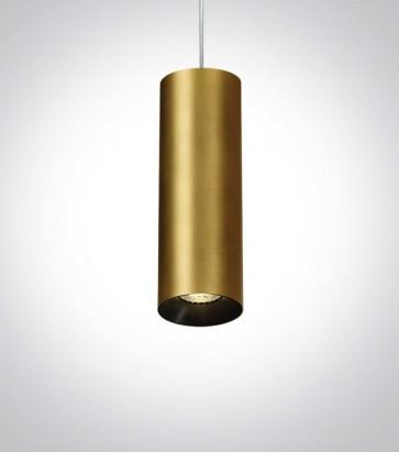 Faretto a Sospensione Linea Cilindro con attacco GU10 - Versione Mini - Colore Bronzo