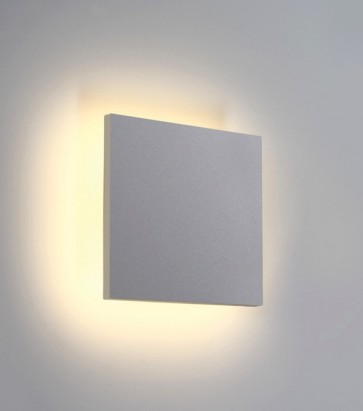 Lampada LED da esterno Linea Eclipse Quadrata 7W - Bianco - Bianco Caldo - IP54
