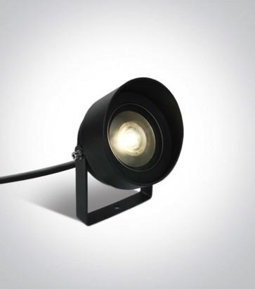 Faretto LED a Picchetto da esterno 14W - Antracite - Bianco Caldo - IP65