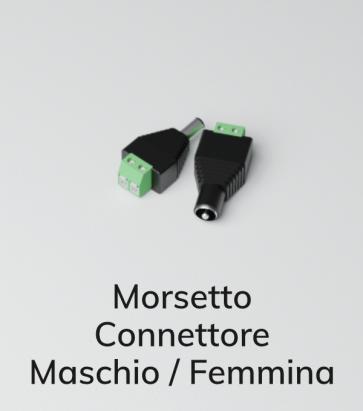 Connettore Maschio, Femmina - Morsetto