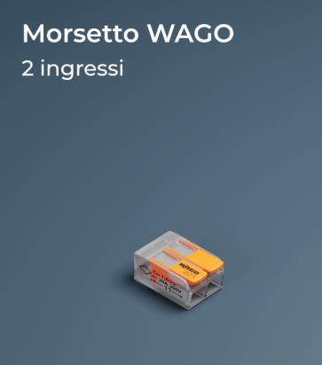 Morsetto WAGO 221-412 a due slot - Collegamenti in parallelo