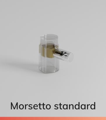 Morsetto Standard - Cavi con ø max. 2.5mm2