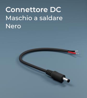 Connettore Strisce LED DC maschio a saldare