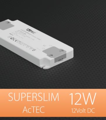Alimentatore ACTEC ULTRATHIN - 12V - 12W