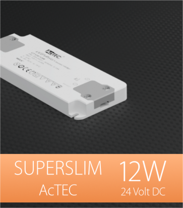Alimentatore ACTEC ULTRATHIN - 24V - 12W