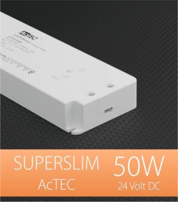 Alimentatore ACTEC ULTRATHIN - 24V - 50W