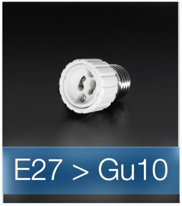Adattatore da E27 a GU10