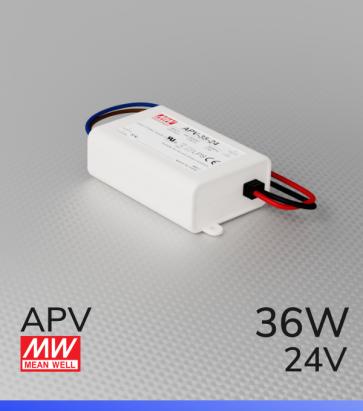 Alimentatore Meanwell APV-35-24  - 24V - 36W