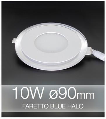 Lampada da Incasso Tondo 10W BLUE HALO BIANCO NATURALE (Lampada Downlight)
