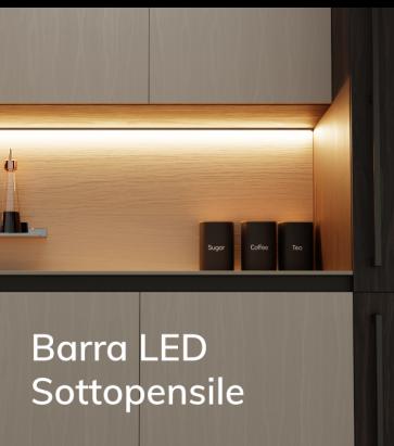 Profilo LED Personalizzato per Sottopensile