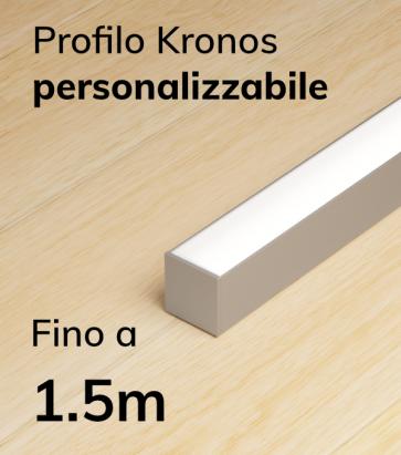 Lampada LED completa KRONOS da Soffitto e a Sospensione - Da 100cm a 150cm - Personalizzabile - Dimmerabile