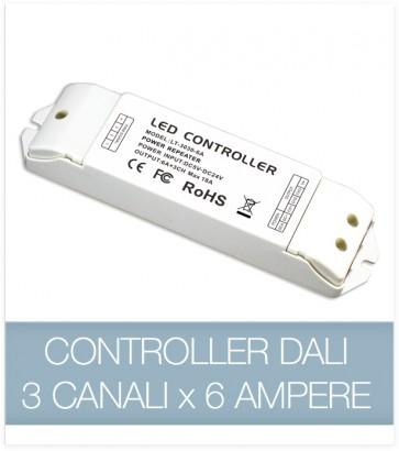 SUPER OFFERTA Controller DALI 3CH x 6A - Dimmer strisce LED
