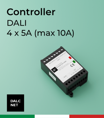 Dimmer DALCNET DLX1224-4CV-DALI  - 12V/24V