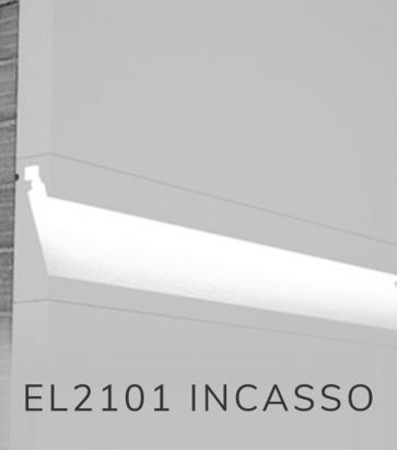 Cornice per LED da Esterno ELENI LIGHTING EL2101 - Segnapasso ad Incasso