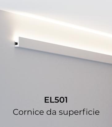 Cornice per LED ELENI LIGHTING EL501 - Illuminazione diffusa