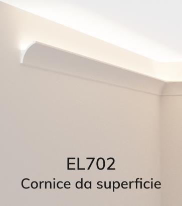 Cornice per LED ELENI LIGHTING EL702 - Vela Concava per Parete