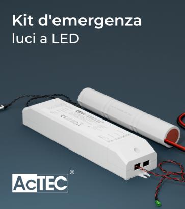 Kit di Emergenza luci a LED - AcTEC