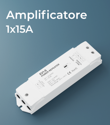 Amplificatore PWM 1Ch. x 15A  - Strisce LED