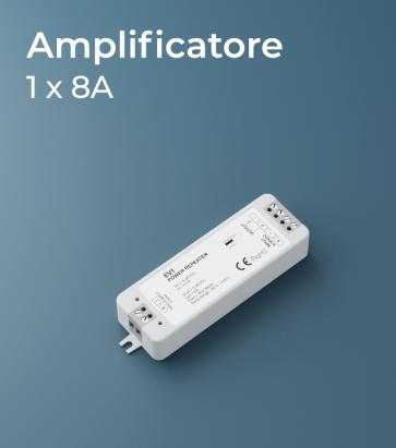 Amplificatore PWM 1Ch. x 8A  - Strisce LED