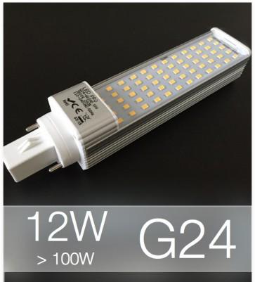 Lampadina LED G24 12W (100W) -  Bianco Naturale