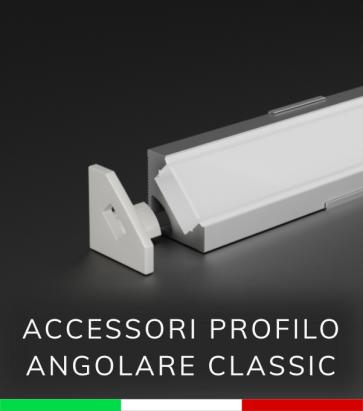 Accessori per Profilo in Alluminio Angolare design Classic