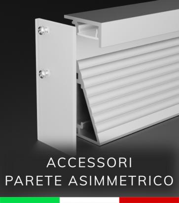 Accessori per Profilo in Alluminio Da Parete con Riflettore