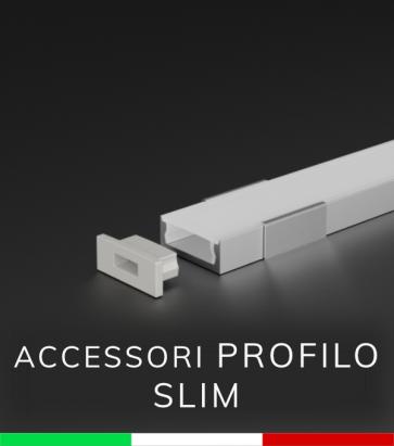 Accessori per Profilo in Alluminio Piatto Slim