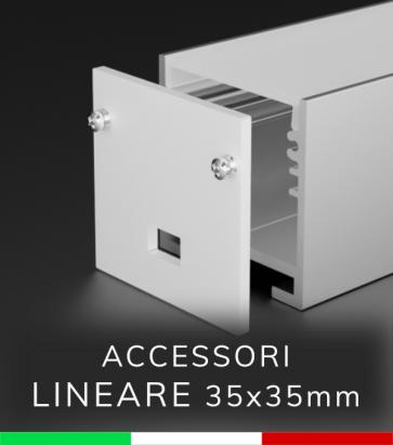 Accessori per Profilo in Alluminio 35x35mm