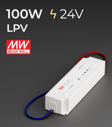 Alimentatore Meanwell LPV-100-48 48V 100W  Resistente all'acqua