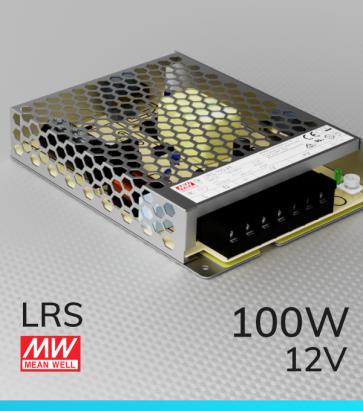 Alimentatore MeanWell LRS-100-12 12V 100W
