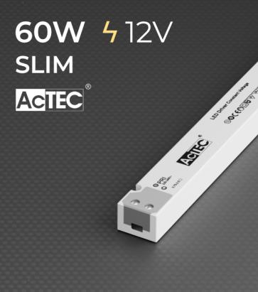 Alimentatore ACTEC LINETYPE - 12V - 60W