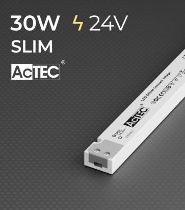 Alimentatore ACTEC LINETYPE - 24V - 30W