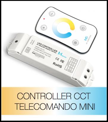 Dimmer Touch CCT - Telecomando MiNi - per Strisce LED BIANCO DINAMICO
