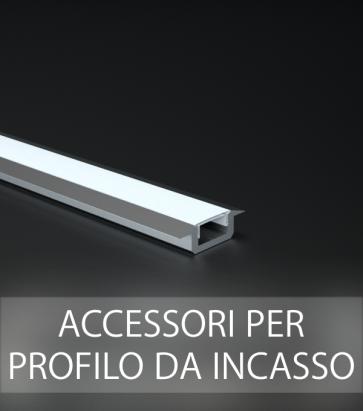 Accessori per Profilo in Alluminio Lineare da Incasso