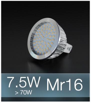Faretto LED MR16 7.5W (70W) - Bianco FREDDO