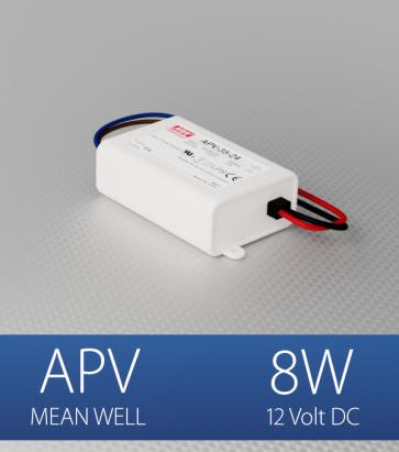 Alimentatore Meanwell APV-08-12  - 12V - 8W