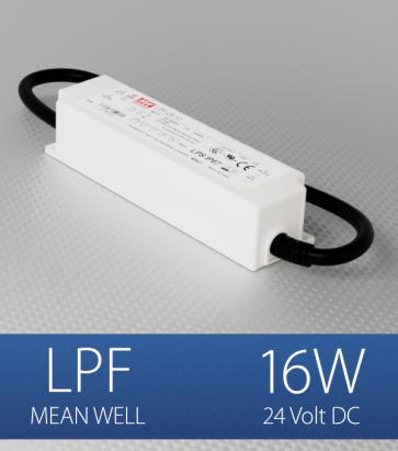 Alimentatore Meanwell LPF-16-24  - 16W - 24V