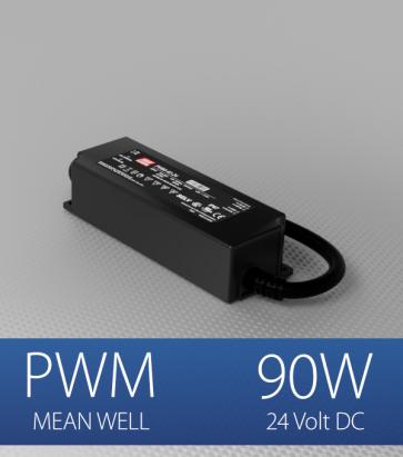 Alimentatore Meanwell PWM-90-24  - 24V - 90W