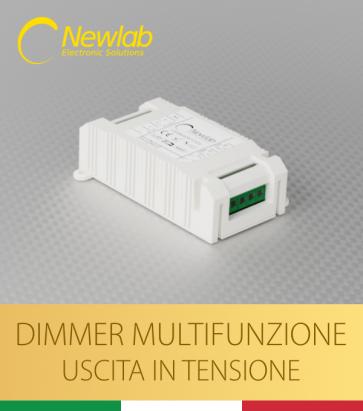 Dimmer Newlab L400 - Pulsante, 0-10V, 1-10V, Potenziometro, DALI