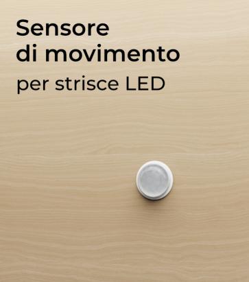 Sensore di Movimento ad Infrarossi PIR per Strisce LED