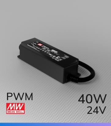 Alimentatore Meanwell PWM-40-24  - 24V - 40W