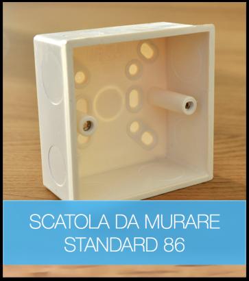 Scatola da Incasso - Standard 86