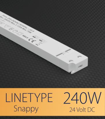 Alimentatore ULTRA SLIM SNAPPY LINETYPE SL240-24VF - 240W - 24V