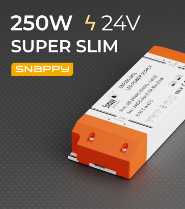 Alimentatore SUPER SLIM SNAPPY SNP250-24VL- 250W -24V
