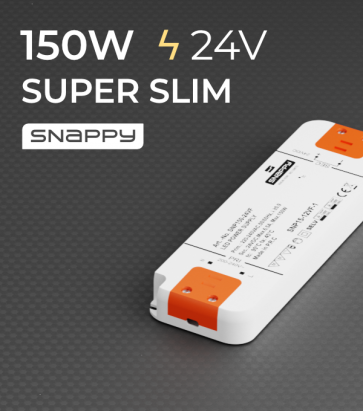 Alimentatore SUPER SLIM SNAPPY SNP150-24VF - 150W - 24V